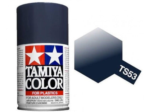 Tamiya TS-53 Deep Metallic Blue Spray Paint Can 3 oz 100ml Mid America