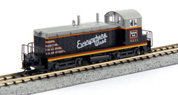 KATO N GAUGE 176-4368 NW2 CB&Q #9211 from Mid-America Naperville