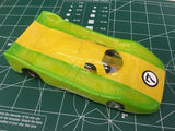 Yellow Green Champion Astro 120-c Mirage Coupe w/ no motor from Mid America
