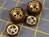 Pro Track Pro Star 1 1/16 x 435 Rear &Front 1/24 Drag Car Tire Mid America N404I
