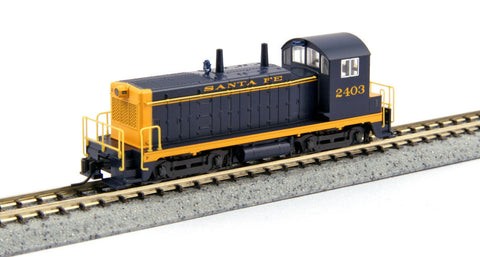 KATO N GAUGE 176-4365 NW2 AT&SF 2403 from Mid-America Naperville