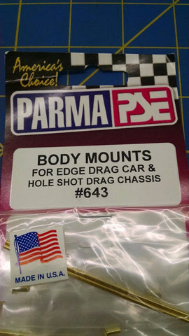Parma #643 Body Mounts from MidAmerica Naperville