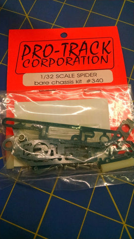 Pro-Track #340 1/32 Spider bare chassis kit from Mid-America Naperville