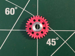 Parma #70127 1/8 axle 48 Pitch 27 Tooth Spur Gears 1/24 slot Mid America Raceway