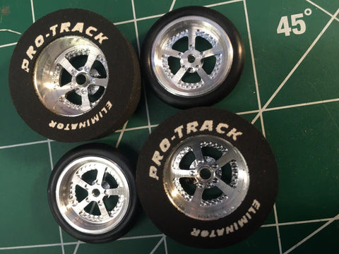 Pro Track 401K Evolution 1 1/16 x 300 Rear & Front Drag Tires MidAmerica Raceway