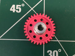 Parma #70131 1/8 axle 48 Pitch 31 Tooth Spur Gears 1/24 slot Mid America Raceway