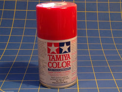 Tamiya PS-2 Red Polycarbonate Spray Can 3 oz Paint # 86002 Mid-America