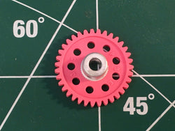 Parma #70135 1/8 axle 48 Pitch 35 Tooth Spur Gears 1/24 slot Mid America Raceway