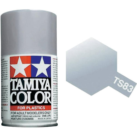 Tamiya TS-83 Metallic Silver Spray Paint Can 3 oz 100ml 85083 Naperville