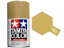 Tamiya TS-3 Dark Yellow Spray Paint Can 3 oz 100ml 85003 Mid-America Naperville