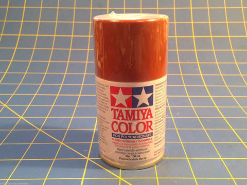 Tamiya PS-14 Copper Polycarbonate Spray Can 3 oz Paint # 86011  Mid-America