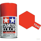 Tamiya TS-49 Bright Red Spray Paint Can 3 oz 100ml 85036 Mid America Naperville