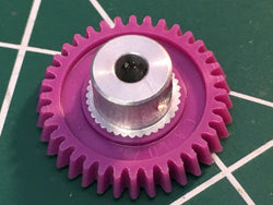 15° Angled Cahoza 64 Pitch 37 Tooth Spur Gear from MidAmerica Raceway Naperville