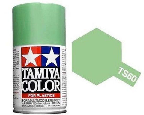 Tamiya TS-60 Pearl Green Spray Paint Can 3 oz 100ml 85060 Mid-America Naperville