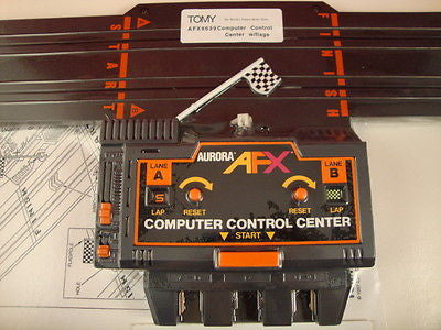 Computer Control Center Ghost Racer Tomy / AFX slot cars Mid-America Raceway