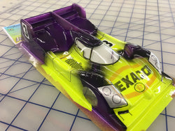 Audi Prototype LMP Painted #3 Texaco slot car body 1/24