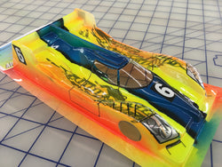 Audi Prototype LMP Painted #6 Goodyear slot car body 1/24
