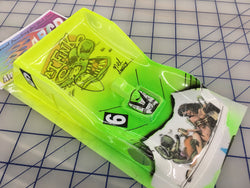 Shelby GTP PAINTED #6 Rat Fink SLOT CAR BODY 1/24
