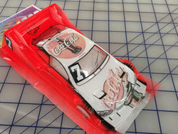BMW DTM Painted #7 Coca Cola SLOT CAR BODY 1/24