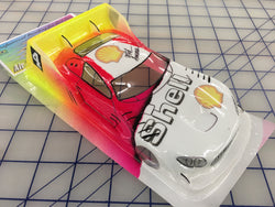 Mercedes AMG DTM Painted 34 Shell SLOT CAR BODY 1/24
