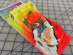 Mercedes AMG DTM Painted #4 Red Bull SLOT CAR BODY 1/24