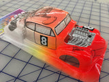 Classic Hot Rod Painted #8  SLOT CAR BODY 1/24