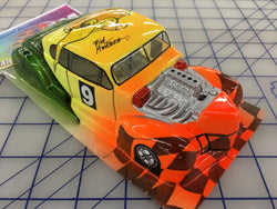 Classic Hot Rod Painted #9  SLOT CAR BODY 1/24