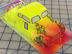 Classic 49 Ford Painted #8  SLOT CAR BODY 1/24