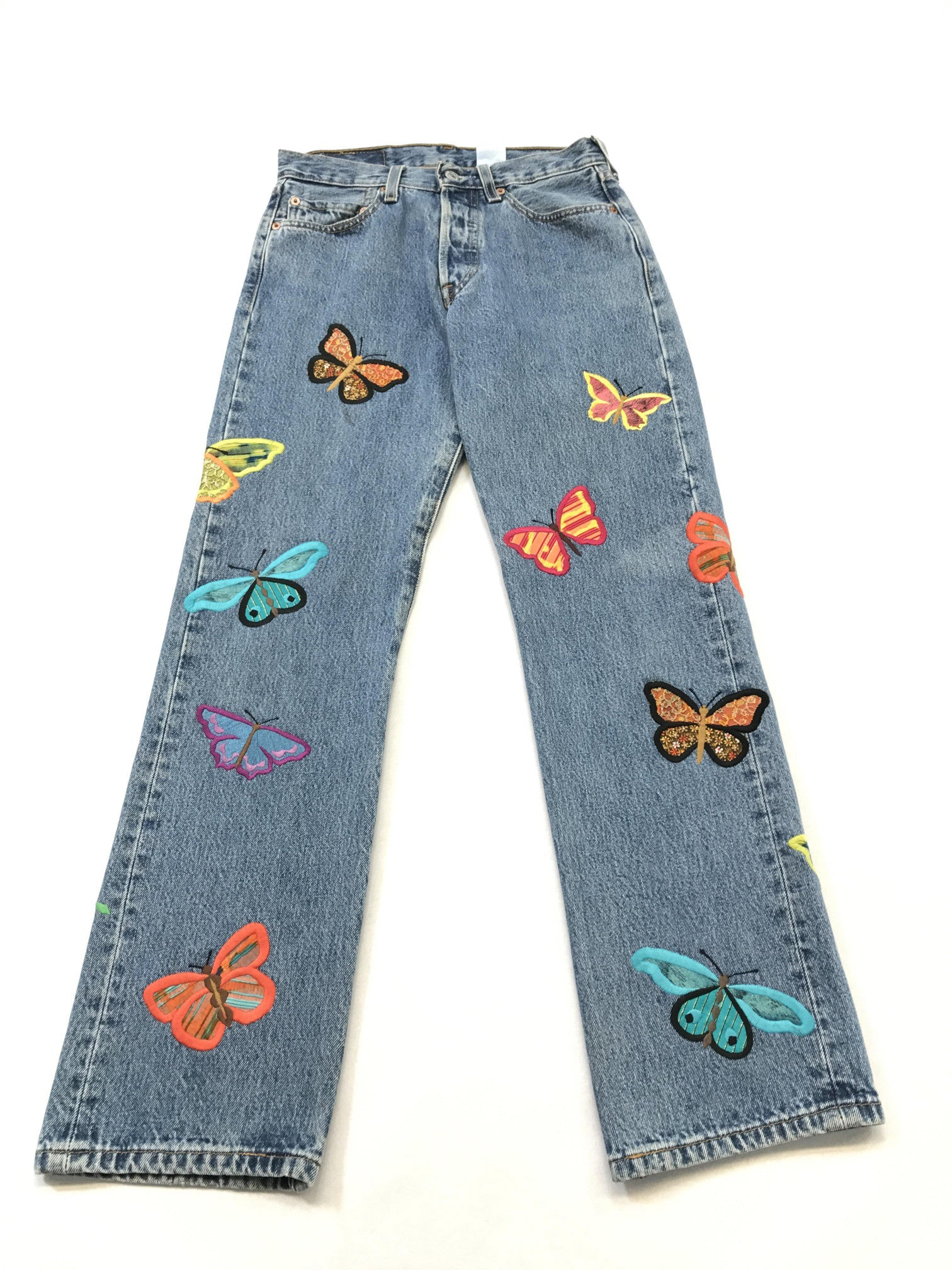 Bright Butterfly Jeans