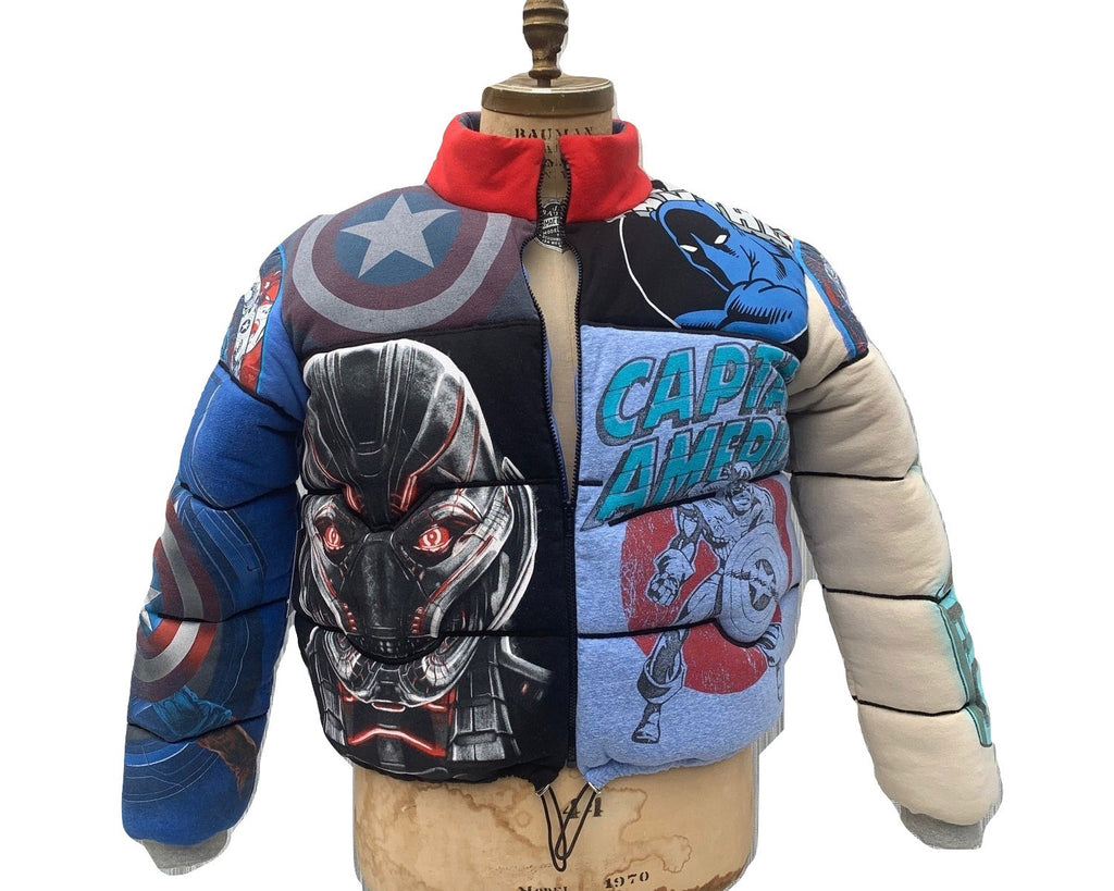 Comic Book Super Hero Fan Jacket Large