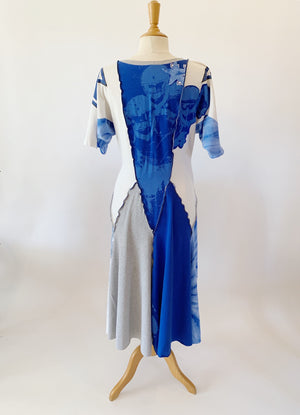 Long Cowboys Game Day Dress