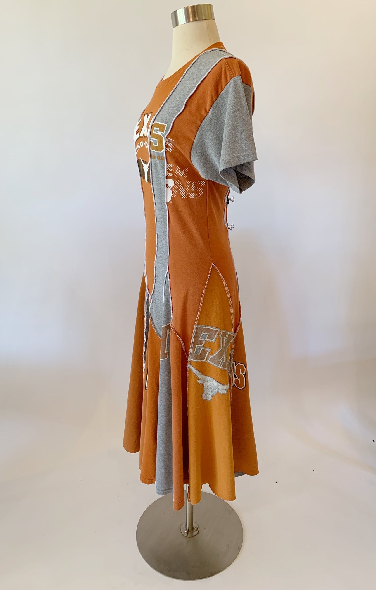 Short Sleeve Longhorns Dress