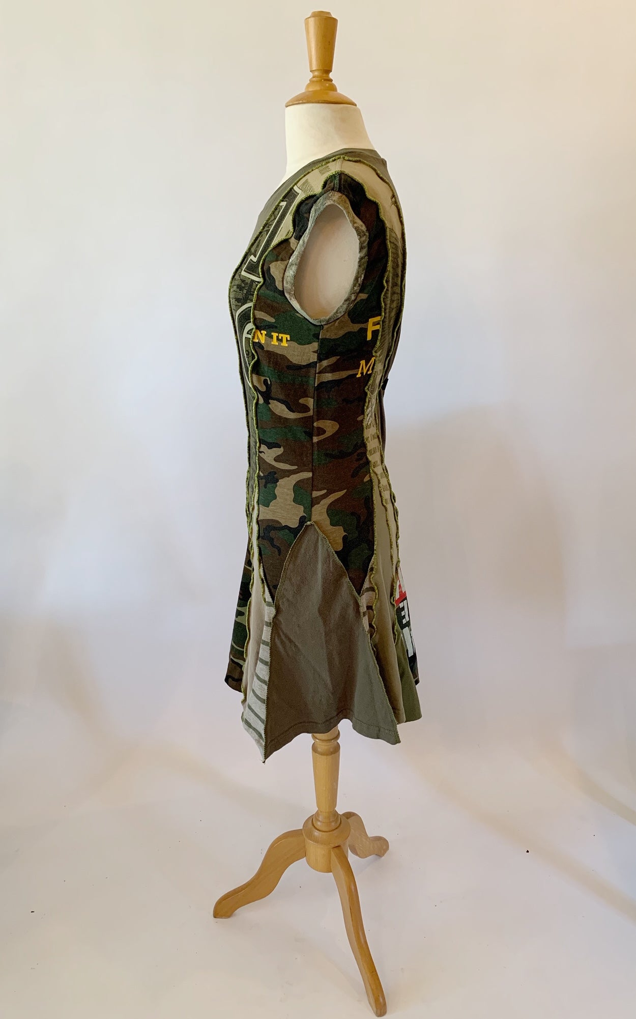 Olive Green Dress Large