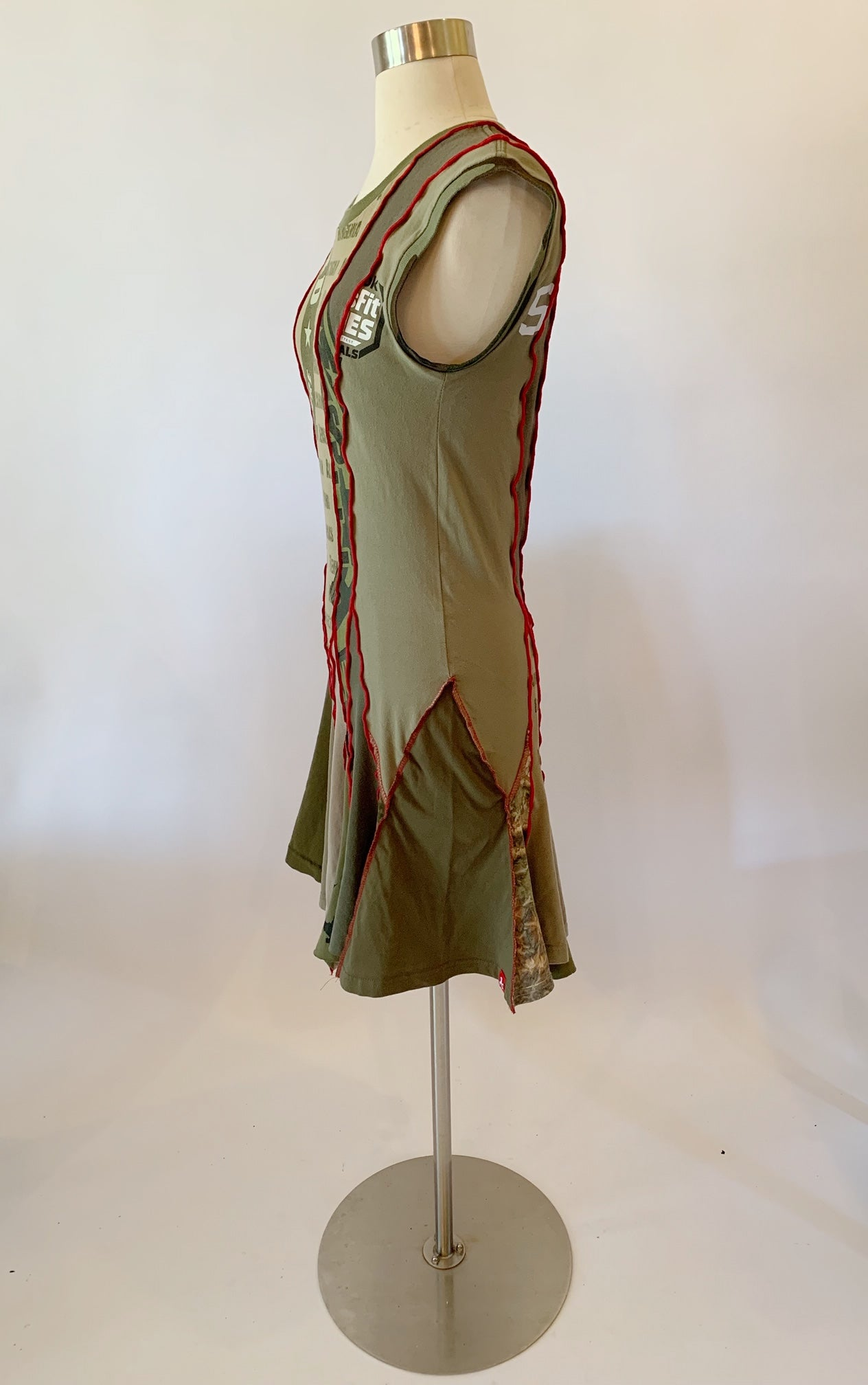 Olive Green Dress Medium