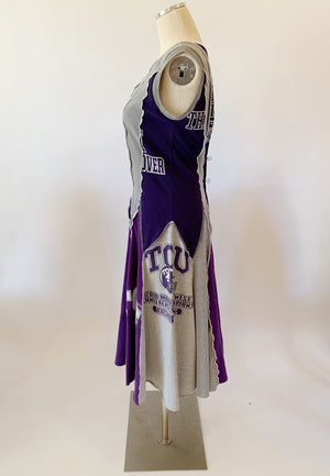 Long TCU Game Day Dress