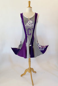 Short TCU Game Day Dress