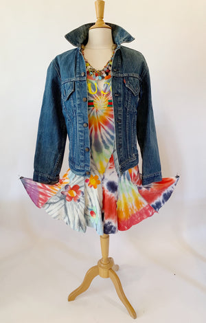 Short Tie Dye Dress Medium