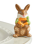 Nora Fleming Bunny Mini - Funny Bunny