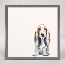 Greenbox Basset Hound Wall Art