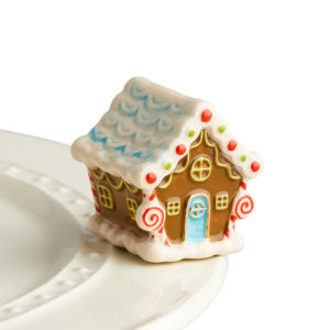 Nora Fleming Candyland Lane - Gingerbread House Mini