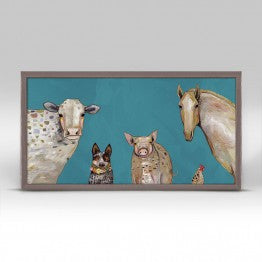 Greenbox Cattle Dog and Crew Wall Art