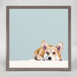 Greenbox Contemplative Corgi Wall Art