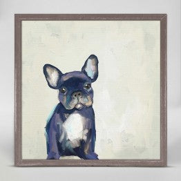 Greenbox Frenchie Puppy Wall Art
