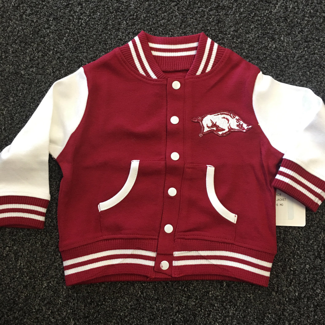 Arkansas Razorback Varsity Jacket