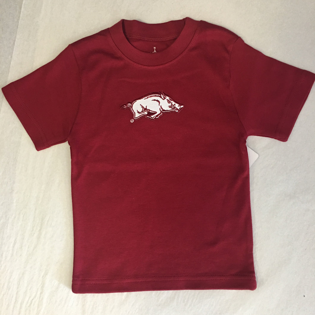 Arkansas Razorback Toddler Tee Shirt