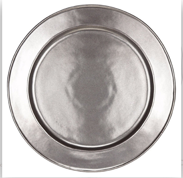 Juliska Pewter Stoneware Charger