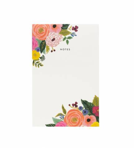 Rifle Paper Company Juliet Rose Notepad