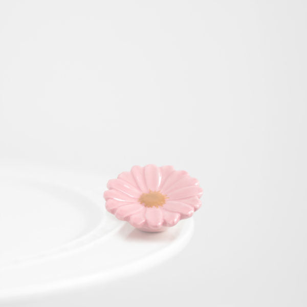 Nora Fleming Flower Power Attachment - Pink Daisy