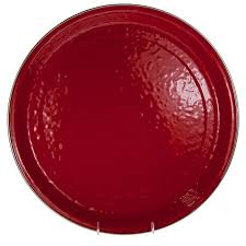 Golden Rabbit Red Large Tray