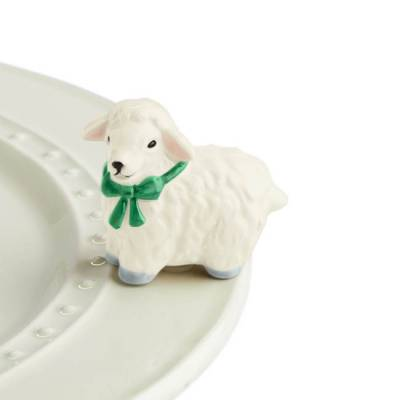 Nora Fleming Sheep Mini - I Love Ewe!